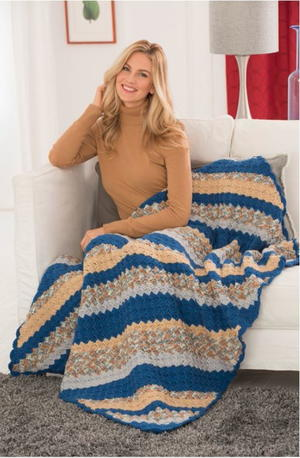 Restful Corner to Corner Crochet Throw