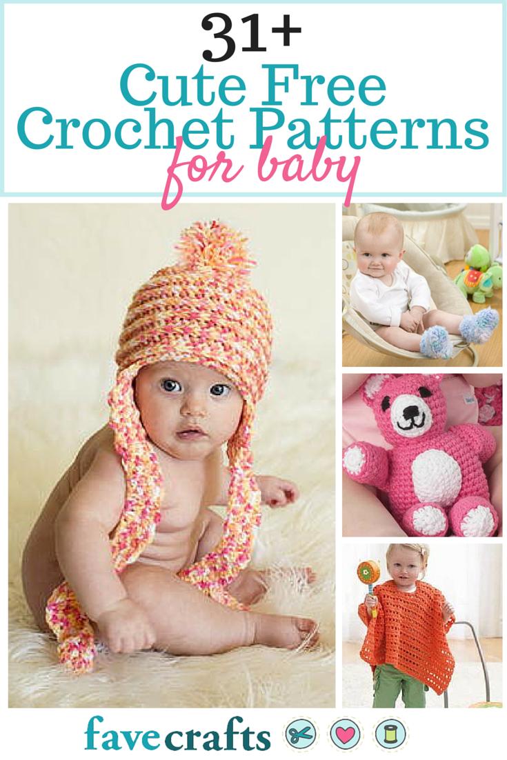 31 Cute Free Crochet Patterns