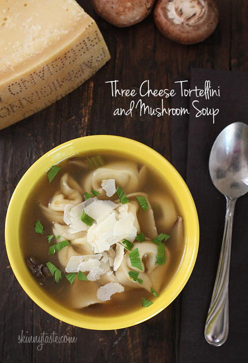 3-Cheese Tortellini Soup
