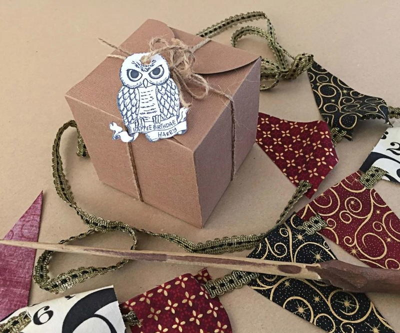 Birthday Gift Wrapping Ideas Harry Potter DIY Cupcake Box