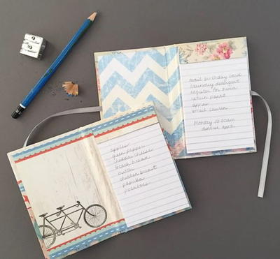 Mini and Marvelous DIY Notebooks