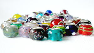 Handmade Lampwork Glass European Beads
