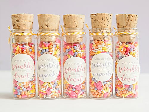 Sprinkled with Love DIY Wedding Favors