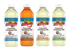 Carrington Farms Flavored Cooking Oil Prize Pack