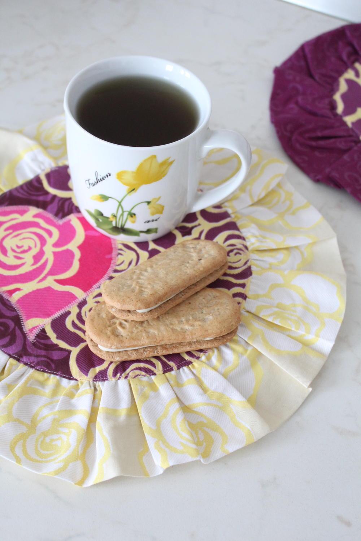Valentine S Mug Rug Pattern Favecrafts Com