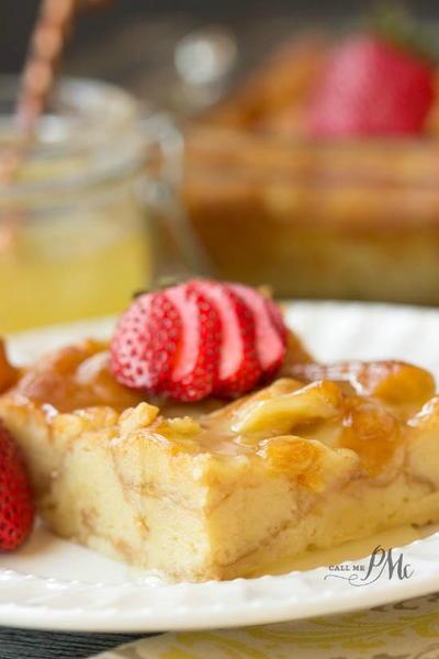 Doughnut Bread Pudding | TheBestDessertRecipes.com