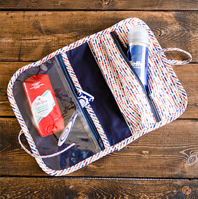 Travel Shave Kit Sewing Pattern