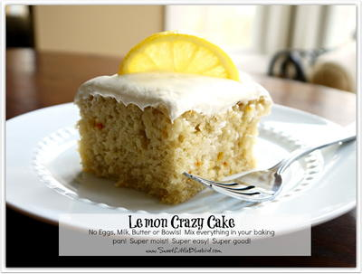 Grandmas Prized Lemon Crazy Cake