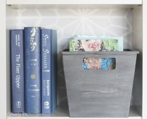 Metallic Upcycled Storage Containers