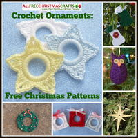 Crochet Ornaments: 27 Free Christmas Patterns