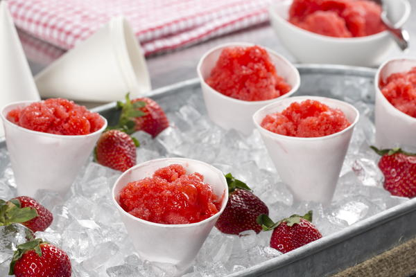 Strawberry Italian Ice
