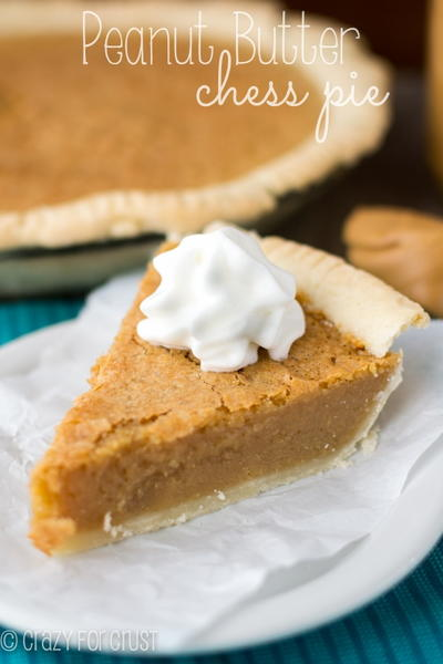 Award Winning Peanut Butter Chess Pie