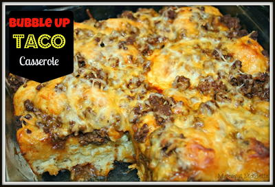 Bubble-Up Taco Casserole