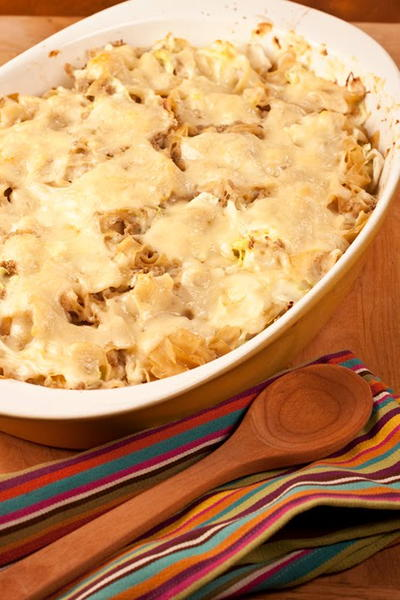 German Style Ham and Cabbage Casserole