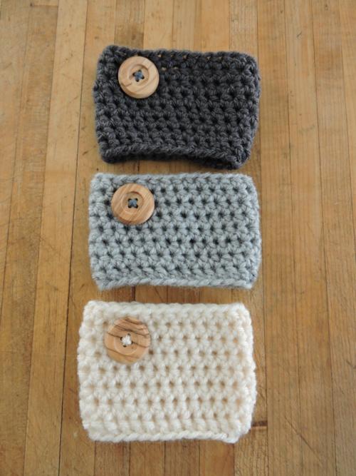 Crochet Coffee Cozy Pattern   AllFreeCrochet.com