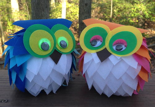 Oly-Fun Owl Craft Idea
