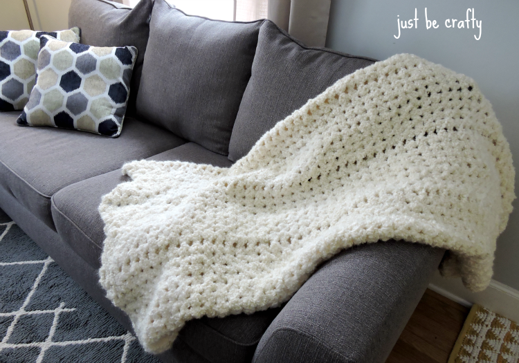 Easy Crochet Angel Cloud Afghan | AllFreeCrochet.com