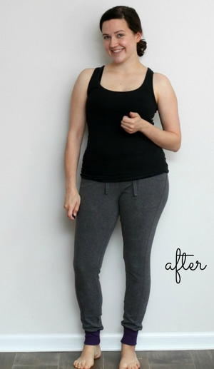 Jogging Pants Refashion Pattern