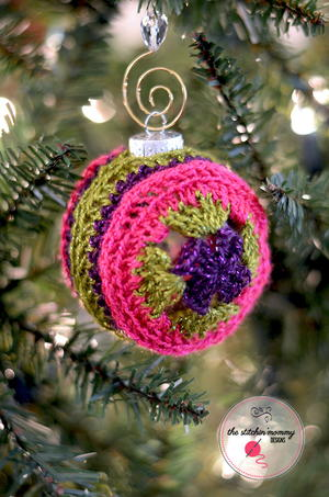 Love and Joy Ornament Cover