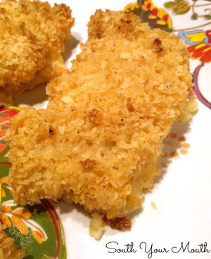 Potato Chip Encrusted Baked Cod
