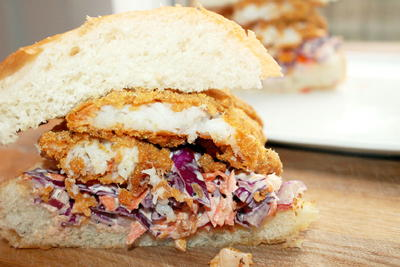 Creole Fried Fish Sandwich Recipe
