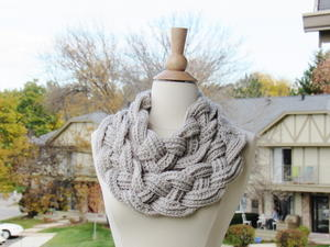 Two Layered Braided Cowl