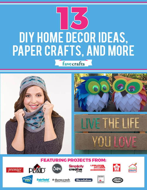 13 DIY Home Decor Ideas Paper Crafts and More