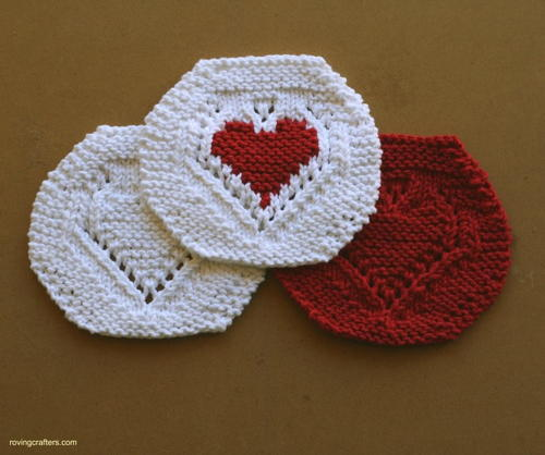Free Hearted Washcloth