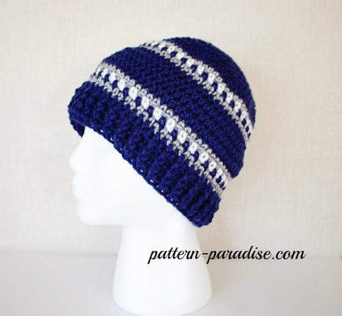 Snowy Day Crochet Hat Pattern