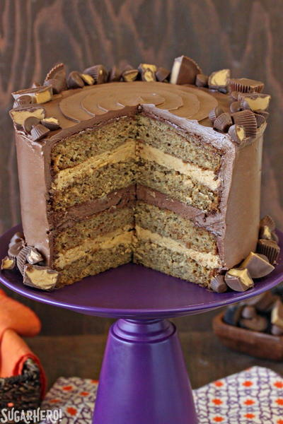 Peanut Butter and Banana Grooms Cake