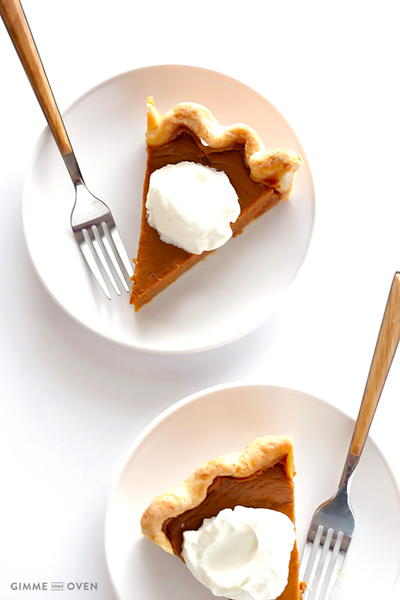 Secret Ingredient Pumpkin Pie