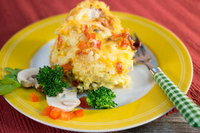 Overnight Egg Brunch Casserole