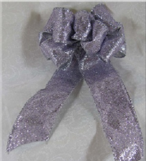 Wire Ribbon Bow