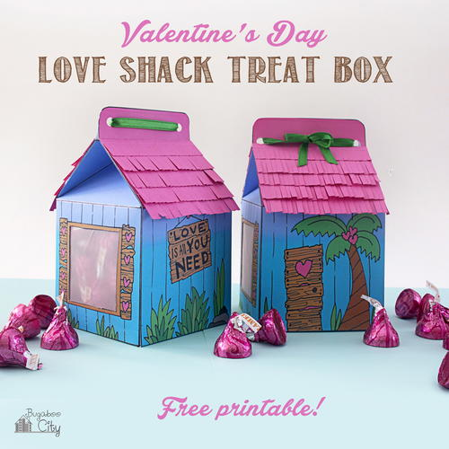 Love Shack Valentine's Day Treat Box
