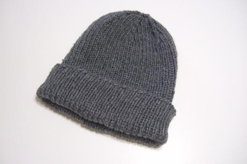 Favorite Ribbed Hat for Straight Needles  a3de3b598