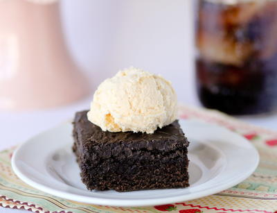 Cracker Barrel Double Fudge Coca Cola Cake Copycat