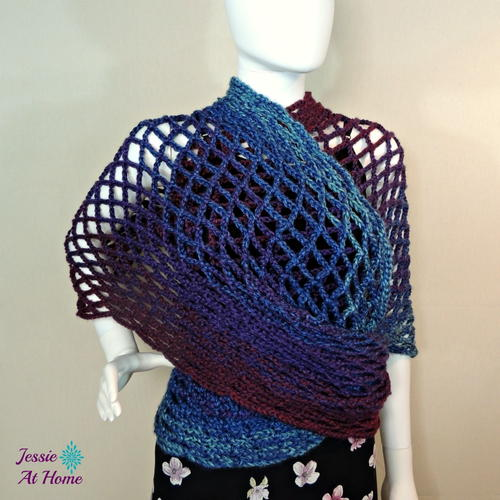 Netties Wrap Crochet Pattern