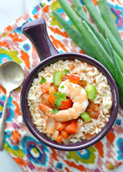 Slow Cooker Chicken and Shrimp Jambalaya_1