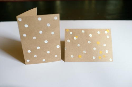 Pretty Polka Dot DIY Cards