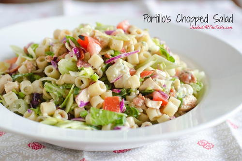 Our Version of Portillos Chopped Salad