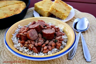 Duck Dynasty Copycat Pinto Beans and Sausage