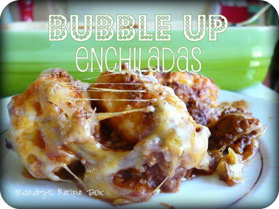Bubble-Up Enchiladas