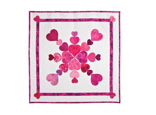 Heart of My Heart Valentine Quilt