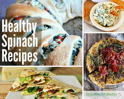 30 Healthy Spinach Recipes