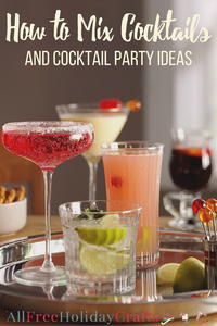 How to Mix Cocktails and Cocktail Party Ideas