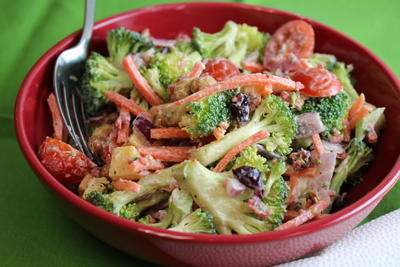 Worlds Best Broccoli Salad