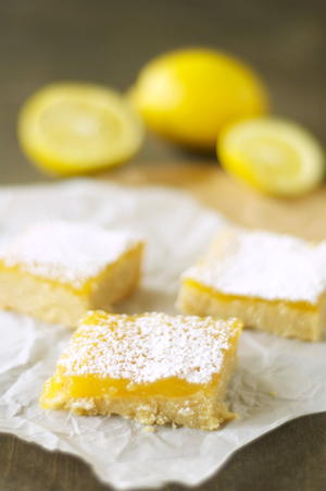 Sweet and Sunny Lemon Cookie Bars