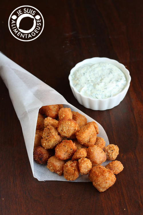 Zesty Vegan Popcorn Chicken