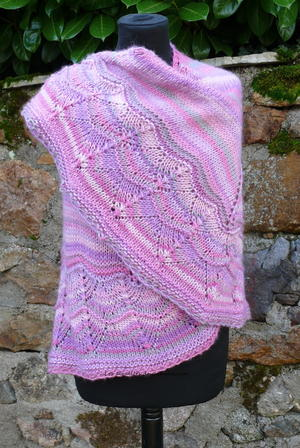 Sweet and Simple Knit Shawl