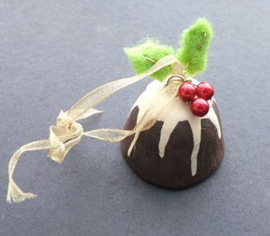 Scrumptious Figgy Pudding Ornament